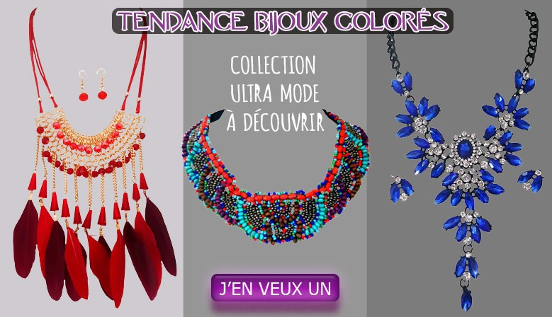 Bijoux colorés AYA Bijoux